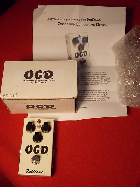 Fulltone OCD V2 Overdrive Pedal, Complete with Box, Manual KILLER TONE,  EARLY S#