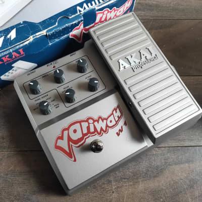 2000's AKAI W1 Variwah Multi Wah Pedal w/Box for sale