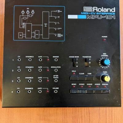 Roland MPU-101 Midi/CV interface 1985 Black
