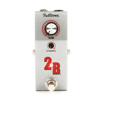 Fulltone 2B Boost with Limiter Silver