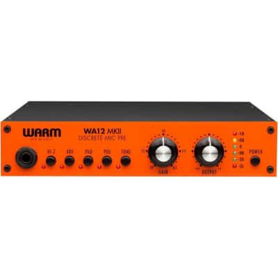 Warm Audio WA12 MKII Mk2 Discrete Dual Transformer Microphone Instrument Preamp