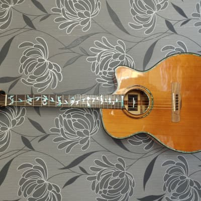 Merida Diana DC-15 SPGACES  Solid Cedar Top With Spalted Maple Back And Sides for sale