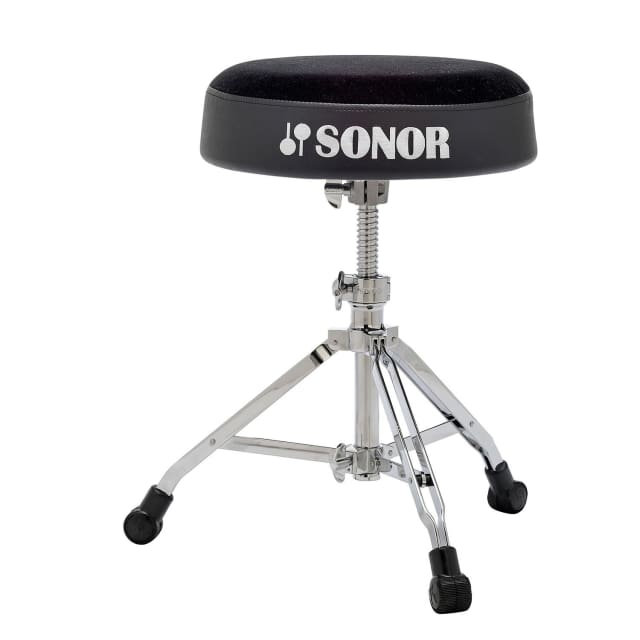 Sonor 6000 Series DrumThrone | Threaded Spindle Adjustment | Round Top image