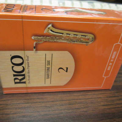Rico Baritone Saxophone Reeds - Strength 2.0 (10-Pack)