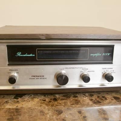 Pioneer SR-202W Vintage Spring Reverb Amplifier 1970s