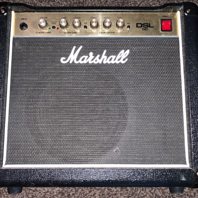 Marshall DSL 5 5 watt tube guitar combo amp Made in England