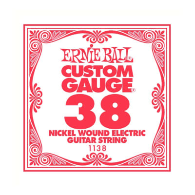 Ernie Ball Nickel Wound Single String 038
