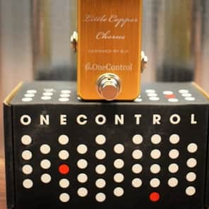 One Control Little Copper BJF Series Chorus Guitar Effect Pedal for sale