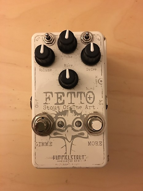 Himmelstrutz Fetto Nord+ Overdrive & Boost White
