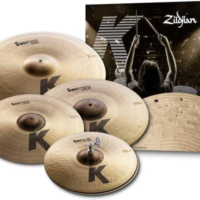 Zildjian KS5791 K Sweet Cymbal Set - 15/17/19/21 inch