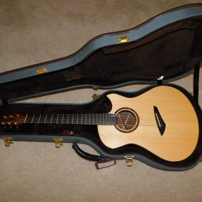 Michael Bashkin OM Fan Fret Italian Spruce and Amazon Rosewood 2010 for sale