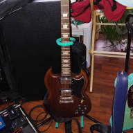 Epiphone SG G400 Vintage 2009 Worn Brown - Signed by Gordie Johnson for sale