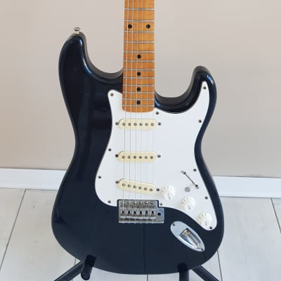 RARE! Morris Stratocaster 'Lawsuit' Made in Japan 1970s Black for sale