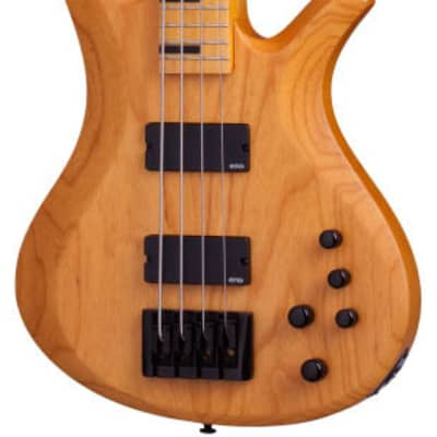 Schecter Riot-4 Session Electric Bass Aged Natural Satin