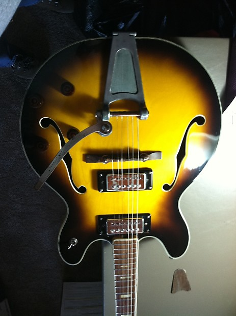 Ventura 1969 70 Model V 1001 Lawsuit Era Gibson Es Copy