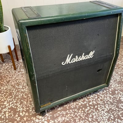 Marshall JCM 800 Lead Series Cabinet Early 80s Wood/Green