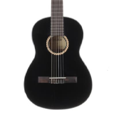 Tanara 3/4 Size Classical Guitar TC34BK Black for sale