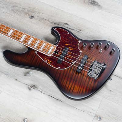 Mayones Jabba Classic 4 Bass Guitar, Pau Ferro Fretboard, Antique Brown Satin for sale
