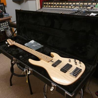 ESP Premium Japanese Surveyor Standard EMG String Active Bass MIJ Japan amaze ap5 better than fender for sale