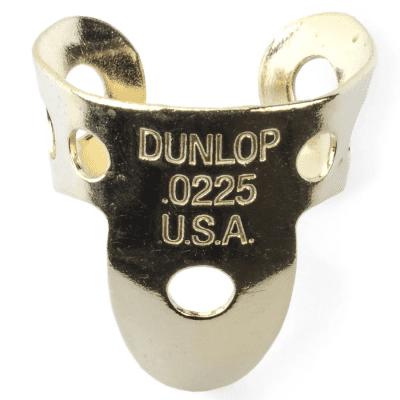 Dunlop 37R Brass Fingerpicks .0225mm Thumb Picks (20-Pack)