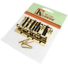 Kluson Vintage '70s Jazz Bass Bridge, GOLD KVBB70G image