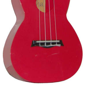 Aloha AUP-24-RED Concert ABS 24 inch Ukulele Red 2015 for sale