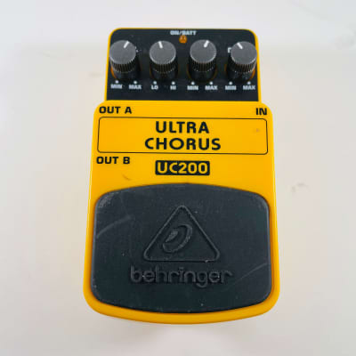 Behringer UC200 Ultra Chorus Pedal *Sustainably Shipped*