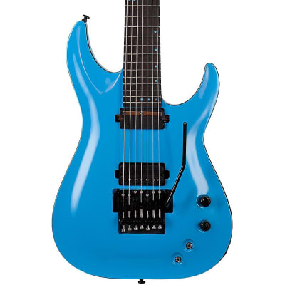 Schecter Guitar Research KM-7 FR-S Electric Guitar Regular Blue for sale