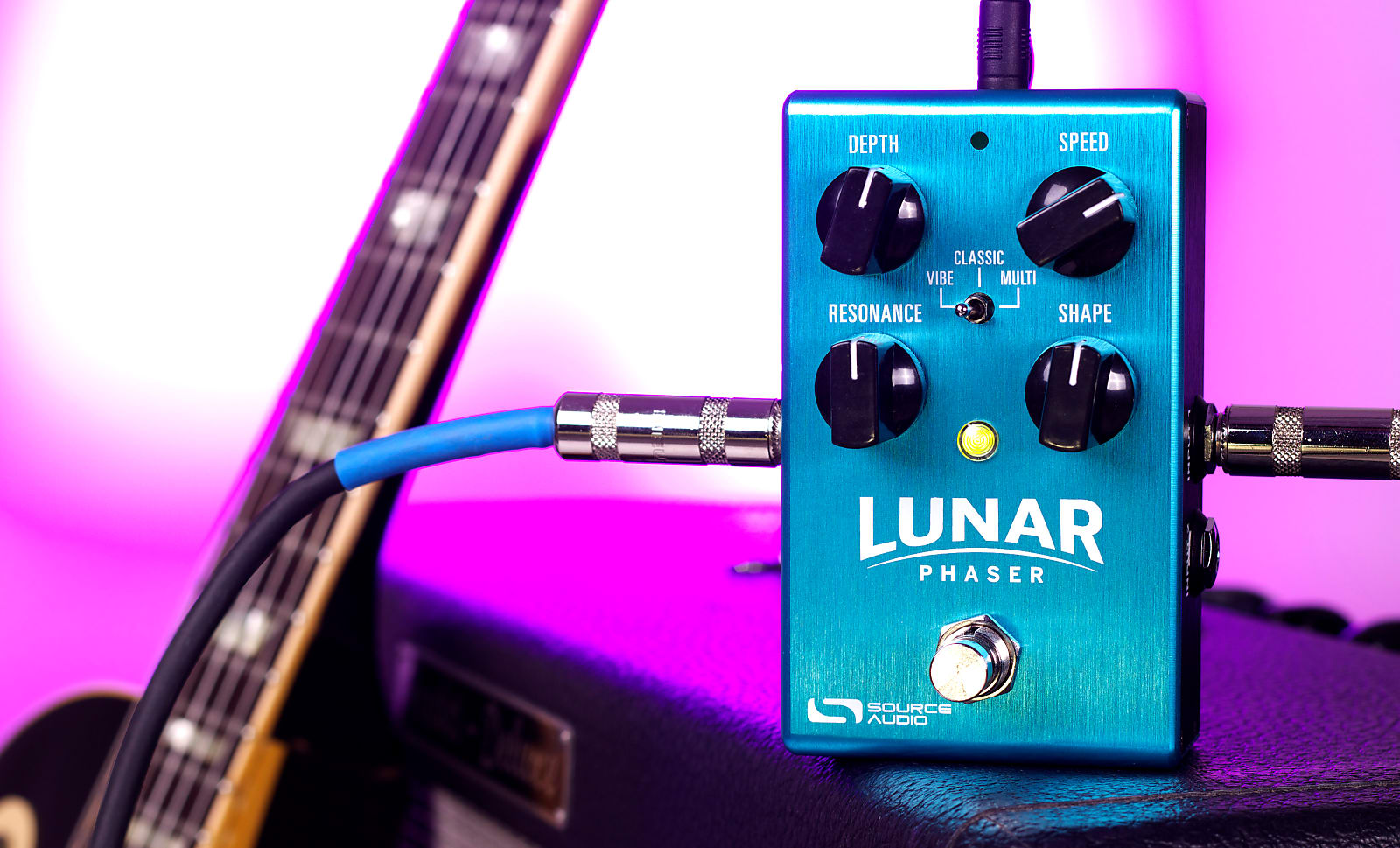 Source Audio SA241 One Series Lunar Phaser Effects Pedal