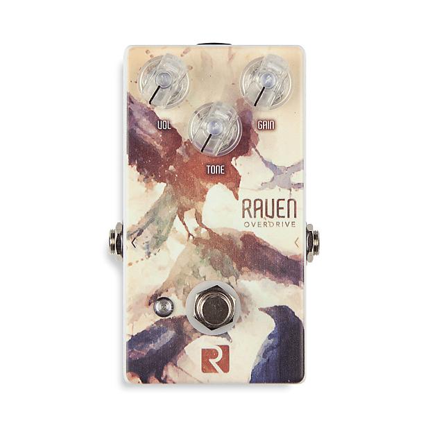 rock stock raven v2 overdrive guitar pedal b stock reverb. Black Bedroom Furniture Sets. Home Design Ideas