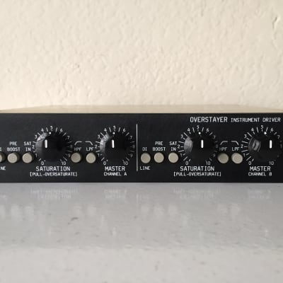 Overstayer Instrument Driver ID4 2-Channel Line Driver / Direct Interface