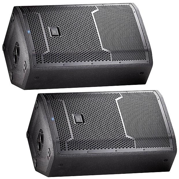 jbl prx712 powered pa speaker pair bundle discount music reverb. Black Bedroom Furniture Sets. Home Design Ideas