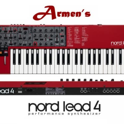 MINT Nord Lead 4 PERFORMANCE 49 KEY Synthesizer Synth 4 KEYBOARD //ARMENS//