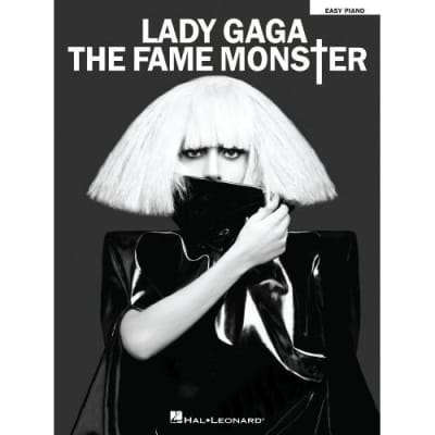 Lady Gaga - The Fame Monster (Easy Piano Songbook)