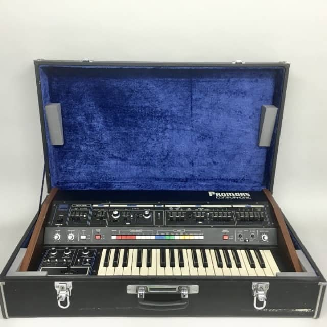 Roland Promars MRS-2 Vintage Synthesizer  in Great Condition w/ Hard Case image