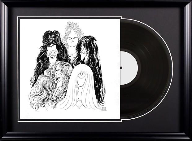 Aerosmith Draw The Line Vintage Album Deluxe Framed Reverb