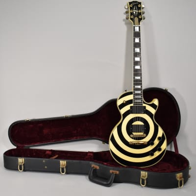 2001 Gibson Custom Shop Les Paul Custom Zakk Wylde Bullseye Electric Guitar w/OHSC for sale