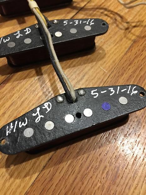 Rare Fender Custom Shop Hand Wound Texas Special Pickups Reverb