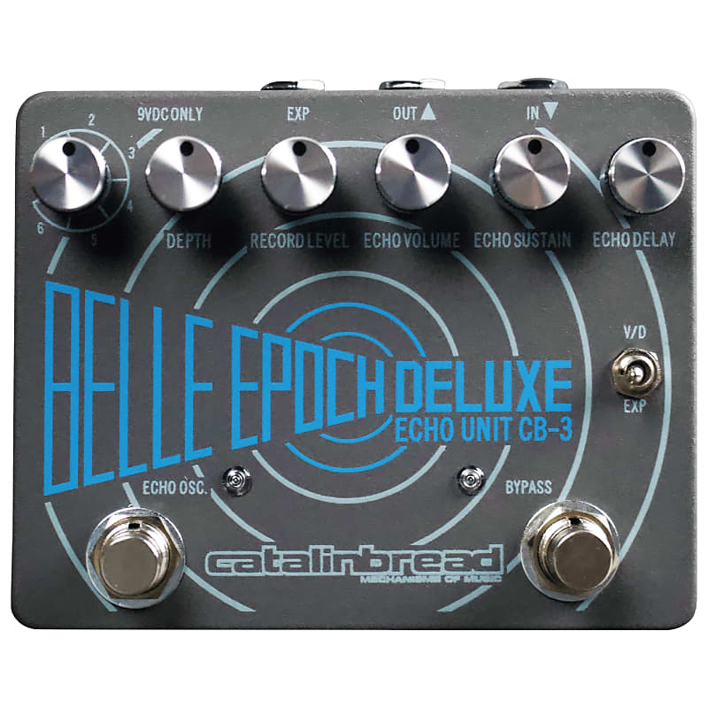 Catalinbread Belle Epoch Deluxe CB3 Dual Tape Echo Emulation Delay Effects Pedal