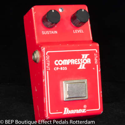 "Ibanez CP-835 Compressor II 1981 s/n 137799 Version 5, Japan mounted with CA3080E op amp w/ ""R"" logo"