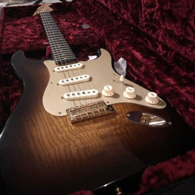 Fender Custom Shop Artisan Tamo Ash Stratocaster with African Blackwood Fretboard, Gold Hardware 201 for sale