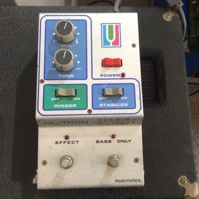 Mu Tron Octave Divider 1970's Grey