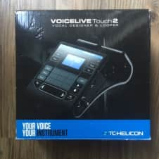 TC Helicon VoiceLive Touch 2  Black Vocal Designer and Looper