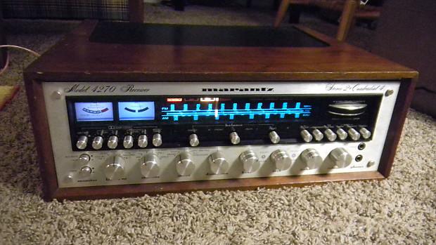 Marantz Model 4270 Stereo 2 + Quadradial 4 Receiver