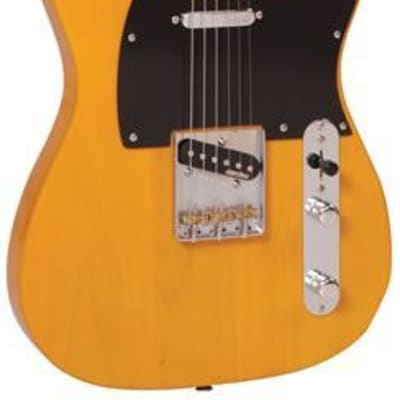 Vintage V52BS Reissued Series Single Cutaway 2020 Butterscotch