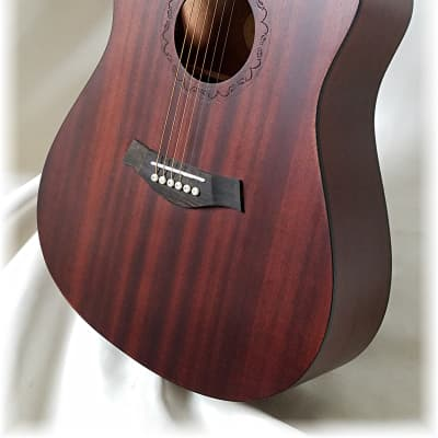 Dreadnought in Stunning highly grained Sapele wood, Just 1 left ! by Dillion for sale