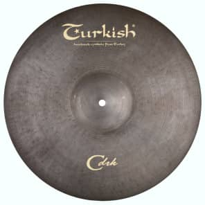 "Turkish Cymbals 16"" Classic Dark Series Classic Dark Crash CDRK-C16"