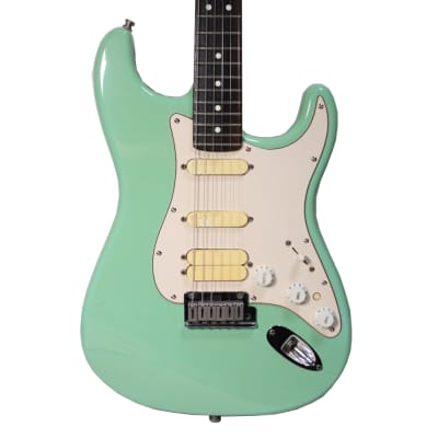 Fender Jeff Beck Artist Series Stratocaster with Lace Sensor Pickups  2001 Green for sale