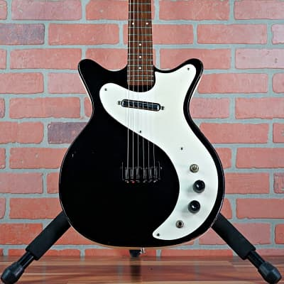 Vintage Danelectro 4011 - RARE - 1964 - Black & White with Stock Trem Assembly Included