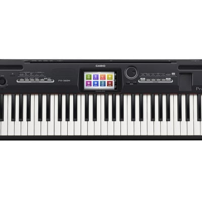 Casio PX360BK Privia 88-Note w/Touch Screen Key Digital Piano